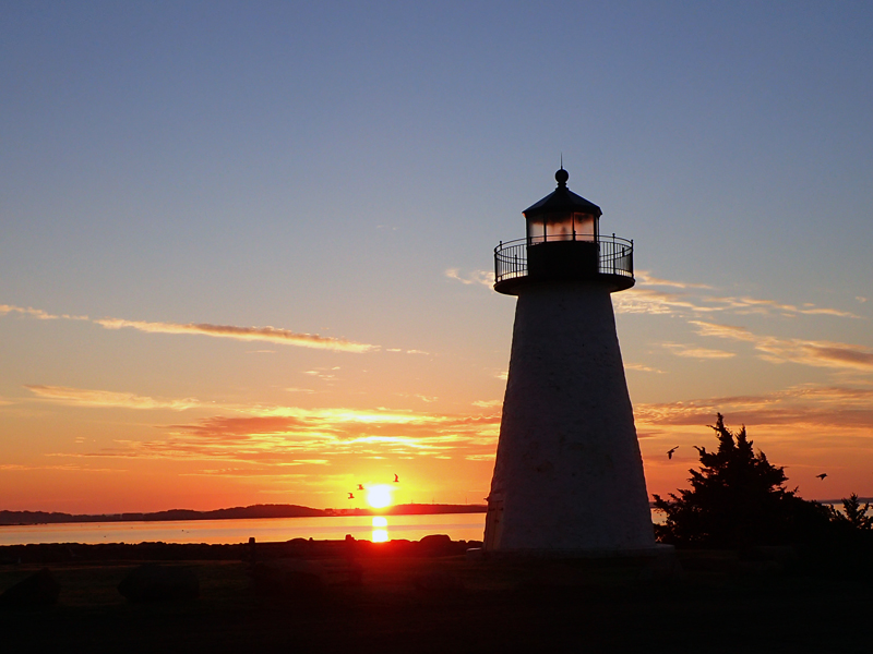 Ned's Point Lighthouse, Mattapoisett, Massachusetts